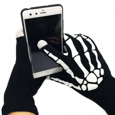 Сенсорные перчатки скелет