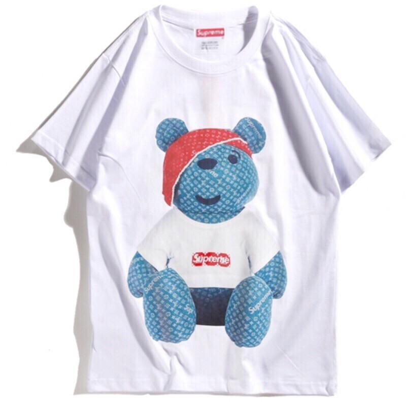 e4d5bc288f2d Белая футболка Supreme x Louis Vuitton Teddy Bear