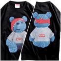 Футболка Supreme x Louis Vuitton Teddy Bear