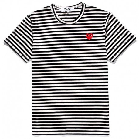 Футболка Comme Des Garcons Play Striped T-Shirt