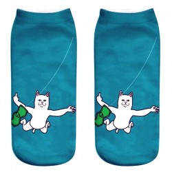 Бирюзовые носки Lord Nermal Nirvana