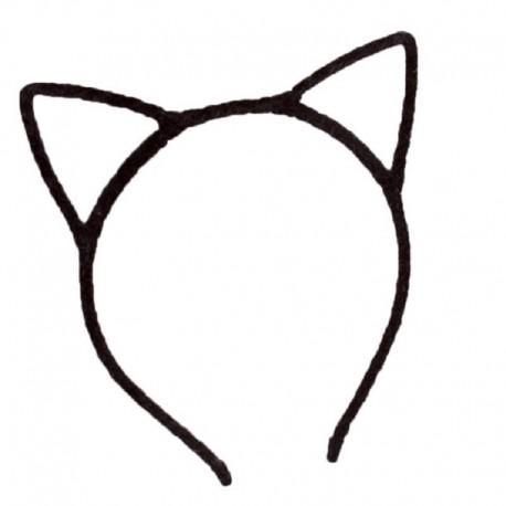 Ободок кошачьи ушки