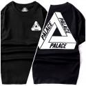Palace футболка черная