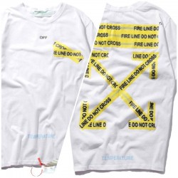 Белая футболка Off-White c/o Virgil Abloh