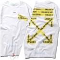 Белая футболка Off-White c/o Virgil Abloh