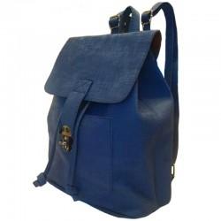 Темно-синий городской рюкзак женский