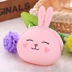 Розовый кошелек Кролик