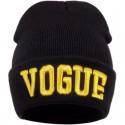 Черная шапка VOGUE