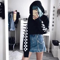 Двойная цепь на юбку