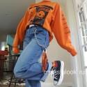 Цепь на джинсы с кольцом