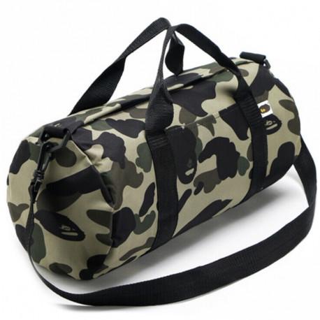 Камуфляжная спортивая сумка Bape