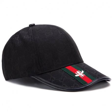 Черная кепка Gucci