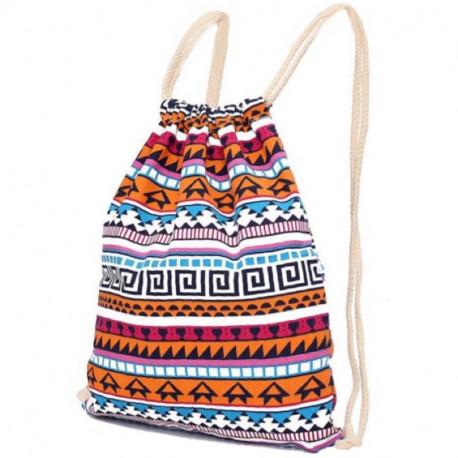 Льняной рюкзак