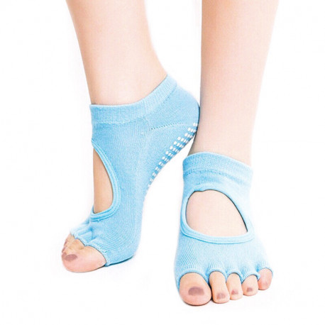 Нескользящие носки без пальцев