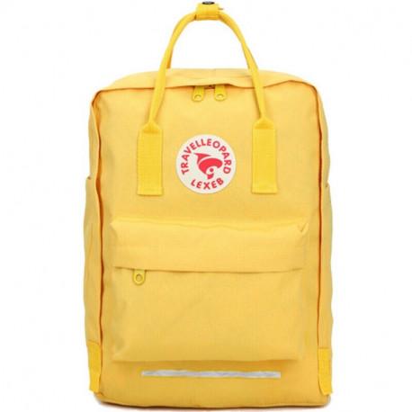 Большой желтый рюкзак Travelleopard Lexeb