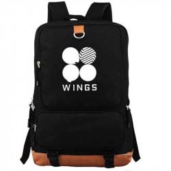 Черный рюкзак BTS Wings
