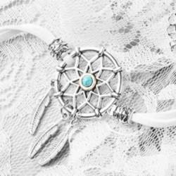 Белый браслет Ловец снов