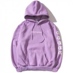 Фиолетовая толстовка Champion