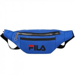 Синяя поясная сумка Fila