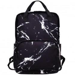 Школьный мраморный рюкзак