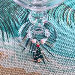 Новогодние подвески для бокалов 6 шт