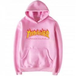 Розовая толстовка Thrasher
