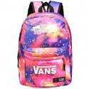Школьный рюкзак Vans космос розовый
