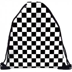 Шахматный мешок для обуви