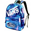 Школьный рюкзак Vans космос голубой