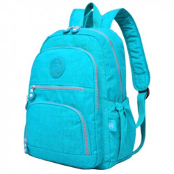 Большой школьный рюкзак Tegaote голубой