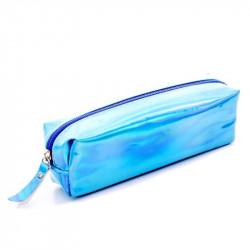 Голубой голографический пенал