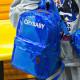 Голубой голографический рюкзак