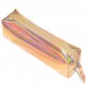 Золотой пенал голографический