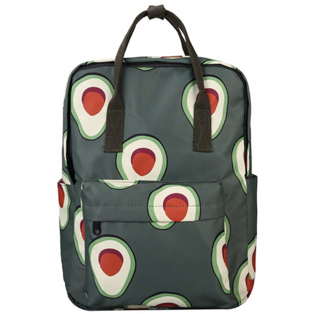 Школьный рюкзак с авокадо