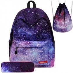 Рюкзак Космос с пеналом и мешком для обуви