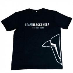 Черная футболка Team Blacksheep